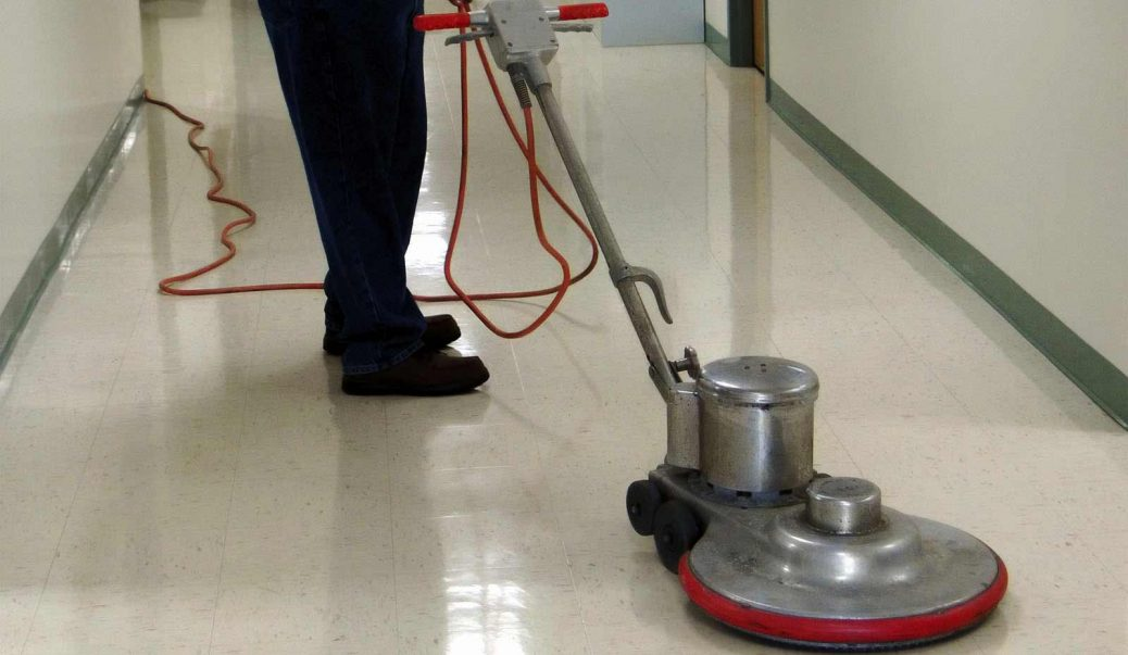 Floor Maintenance - Floor Stripping & Waxing