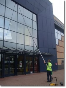 exterior cleaning services,window washing,building maintenance,exterior cleaning